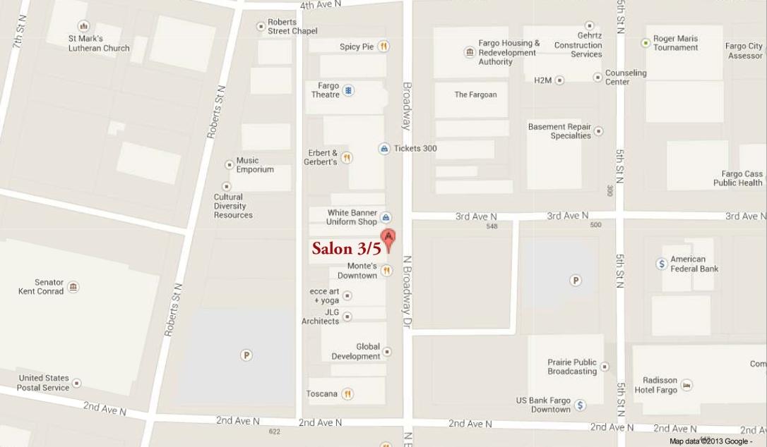 Salon 3:5 By Ryan Benz, Broadway, Fargo, ND - Google Maps